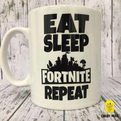 Eat Sleep Fortnite Repeat MUG 42