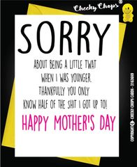 Mother's Day Greeting Card - Little Shit - M19
