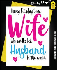 Birthday / Husband / Wife - BEST - C62
