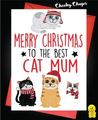 Merry Christmas Best Cat Mum XM157