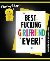 Best Girlfriend - Birthday, Anniversary, Valentines A4