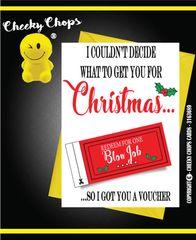 Christmas Card - Voucher - Xm100
