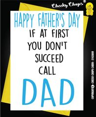 Call Dad - Fathers Day Card - F8