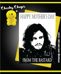 Mother's Day Greeting Card - Jon Snow from the Bastard - M22