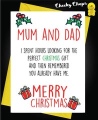 Perfect Gift - Mum and Dad XM130