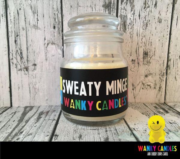 Sweaty Minge - Wanky Candle - WC06