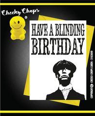 Birthday Card - Peaky Blinders C244
