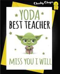 Yoda best Teacher K7