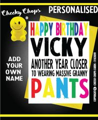 PERSONALISED BIRTHDAY CARD - PO5