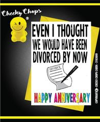 Anniversary - Divorced by now A20