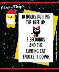 Christmas Card CAT - XM62.