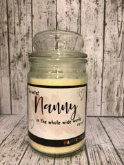 Bestest Nan Wanky Candle (Large 16oz) MC3