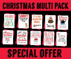 10 Christmas cards for £10 Special Offer