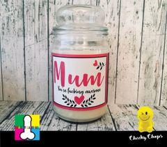 Mum - Wanky Candle - Large Limited Edition (16oz)