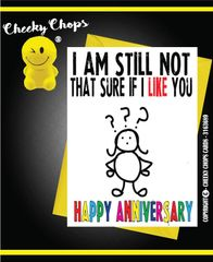 Anniversary - Not sure Wife A21