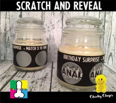 Scratch and Reveal ( surprise ) - Wanky Candle - WC26