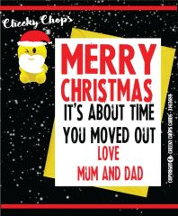 Christmas Card - Love Mum and Dad XM71