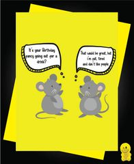 CARD FOR A QUID Funny Birthday Cards - It's your Birthday C137
