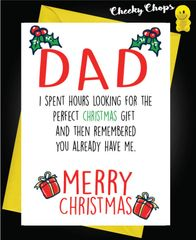 Perfect Gift - Dad XM134