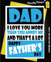 Dad - Annoy me F23