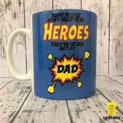 Superhero Mug (With free matching badge) C103