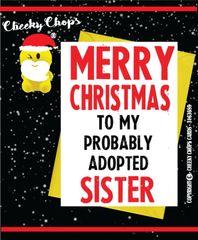 Christmas Card - Sister XM69