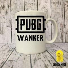 Novelty Gift Mug PUBG Wanker Mug 505