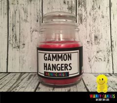 Gammon Hangers - Wanky Candle - WC19