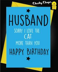 Husband - Love the Cat C458