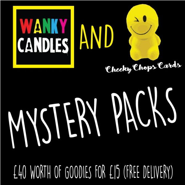 Cheeky and Wanky Mystery Pack (Worth min £40)