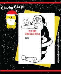 Christmas Card - List of cunts XM63