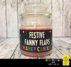 Festive Fanny Flaps - Christmas Wanky Candle - XMC03