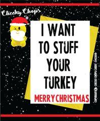 Christmas Card - Stuff your turkey XM72