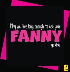 Fanny go dry C351