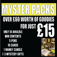 MEGA MYSTERY PACK - FREE P&P (special offer) 10 AVAILABLE