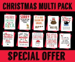 EXTRA SPECIAL OFFER 10 RUDE CARDS FOR £10