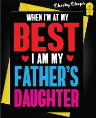 Father's Daughter C107
