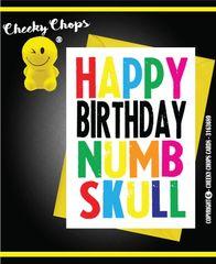 Happy Birthday Numb Skull c949