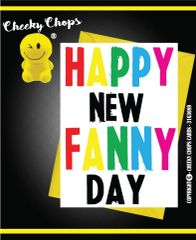 LGBT /Birthday - HAPPY NEW FANNY DAY C964