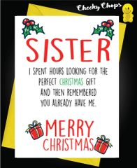 Perfect Gift - Sister XM132