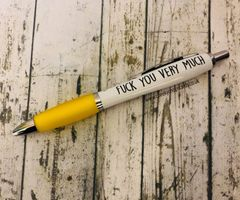 Fuck you very much - Christmas Profanity Pen