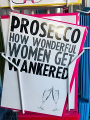 CARD FOR A QUID Funny Birthday Cards - PROSECCO C215