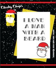 Christmas Card - XM85 A man with a beard