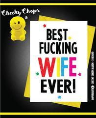Best Wife- Birthday, Anniversary, Valentines A5