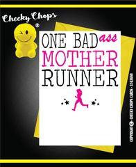 Birthday/Sport/ Running - Mother Runner - CC03