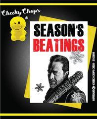 Christmas Card - Walking Dead - Season's Beating - X90