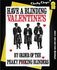 Peaky Blinders Valentine's Card - V51