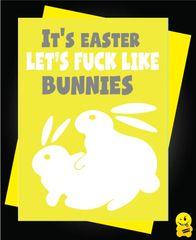 Easter Card - It's easter lets fuck like rabbits E11
