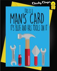 Birthday Card - This is a man's card C442