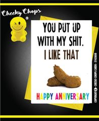 Anniversary, Valentine -Putting up with your shit A12
